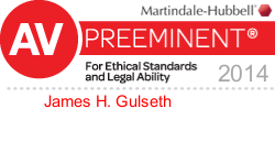 Martindale Hubble Preeminent Business and Corporate Lawyer